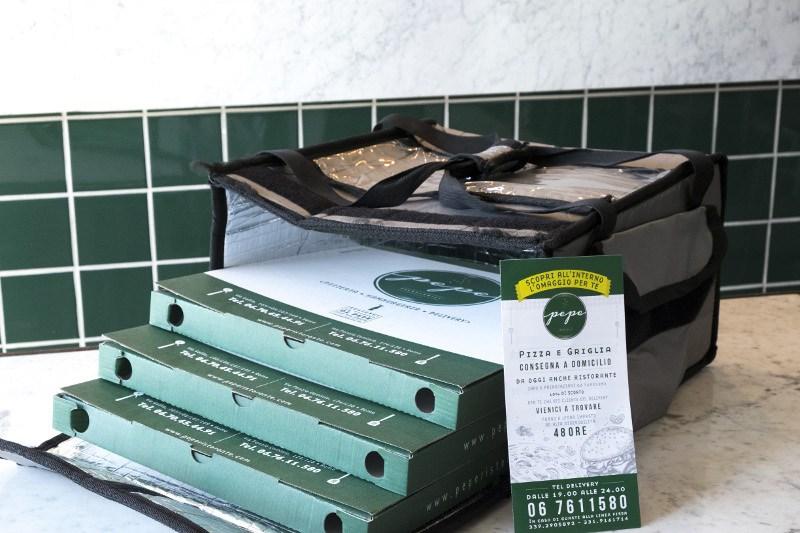 Pizza a domicilio: a Centocelle e Cinecittà c'è Pepe!