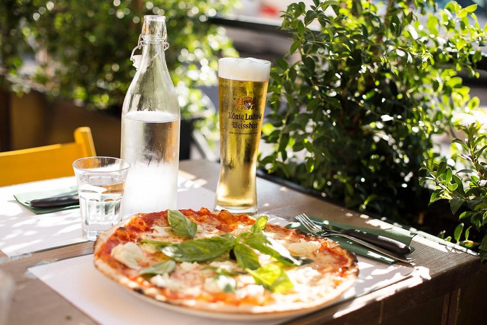 pizzeria all'aperto roma pepe